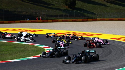 Razburljivo dogajanje v Toskani prineslo zmago Hamiltona