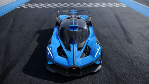 Bugatti razvija serijsko različico koncepta Bolide