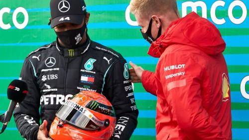 91. zmaga Hamiltona v F1
