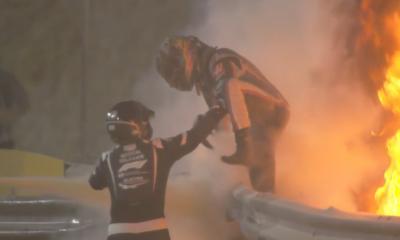 V Bahrajnu ponovno rojstvo Grosjeana in zmaga Hamiltona