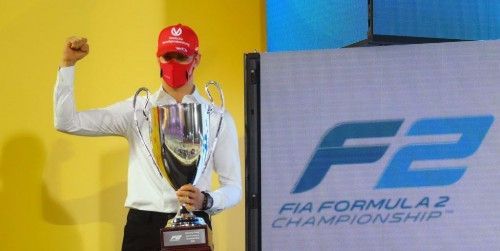 Mick Schumacher osvojil prvenstvo F2