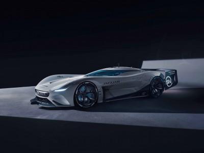 Jaguarjev električni dirkalnik za Gran Turismo