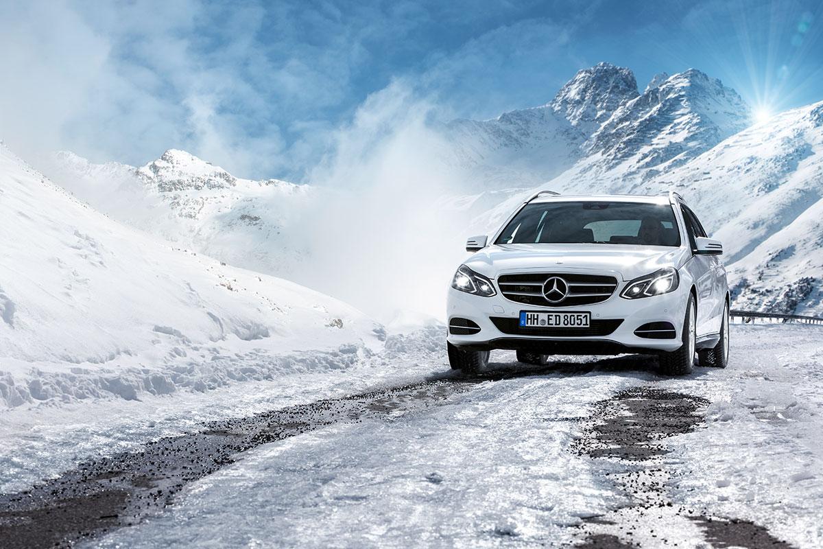 Pri vožnji pozimi velja prav posebno pozornost nameniti ledenim zaplatam