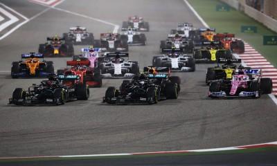 V Sakhirju senzacionalna zmaga Pereza in blamaža Mercedesa