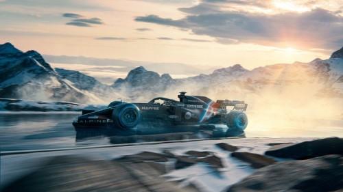 Renault bo Alpine F1 Team