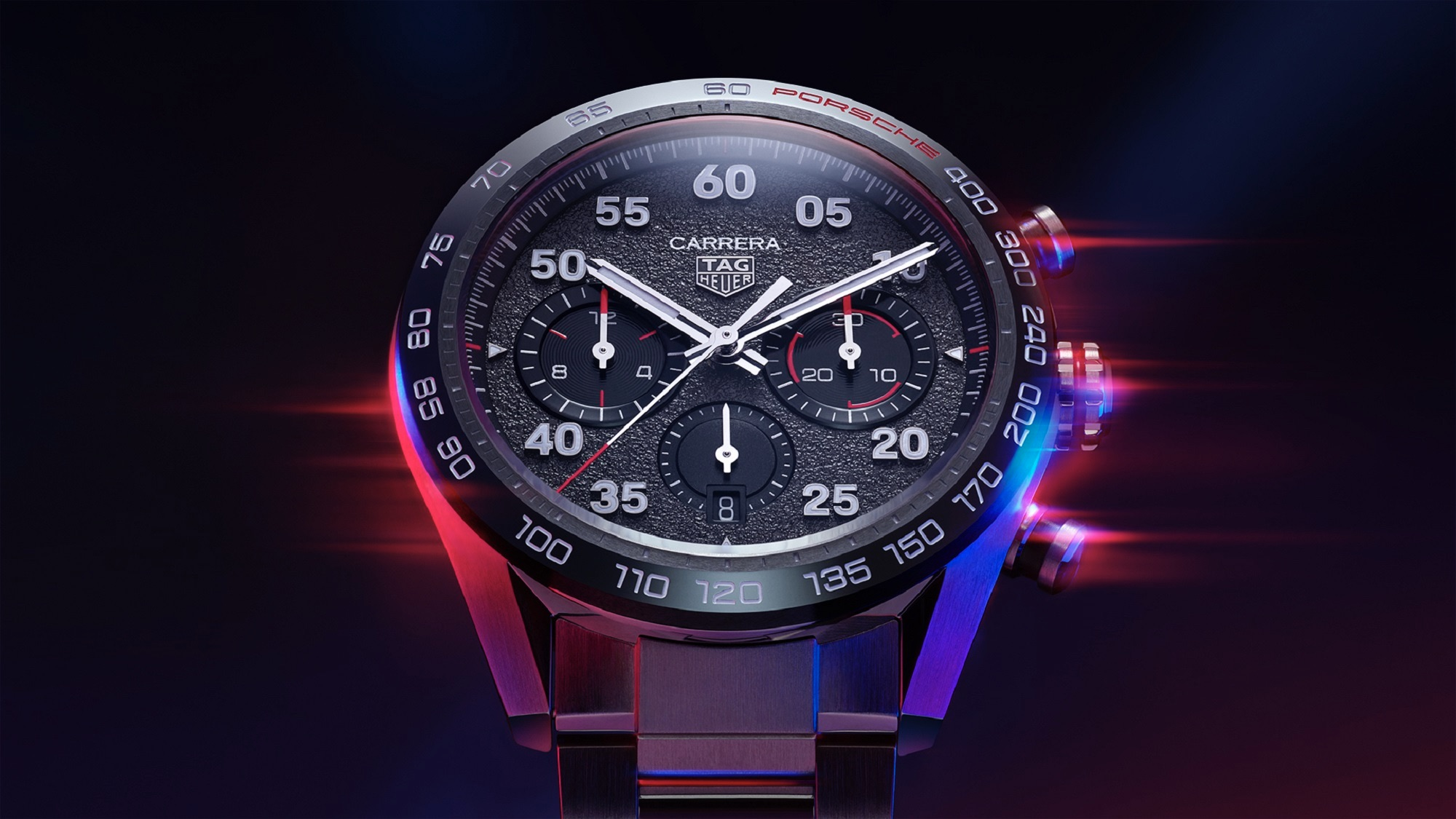 As a first step, the partners unveiled the TAG Heuer Carrera Porsche Chronograph