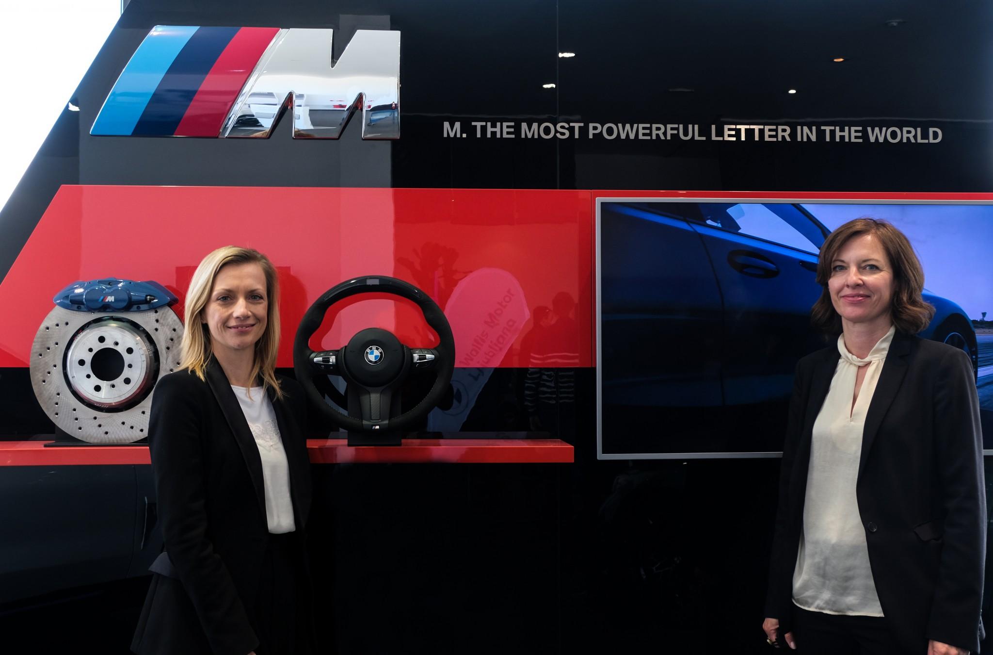 Maja Ilec - PR Manager BMW Group Slovenija in Ana Marija Hucika - PR Manager Wallis Adria d.o.o.