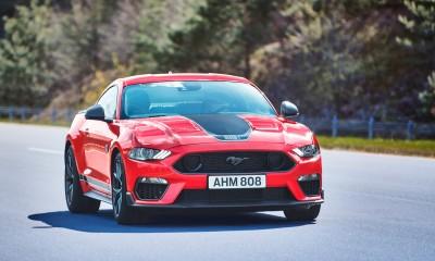 Hudobni Mustang za Evropejce