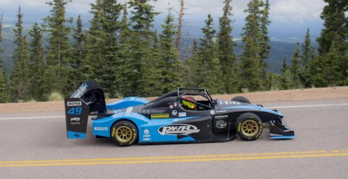 Robin Shute zmagal na Pikes Peak 2021