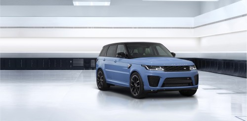Ekskluziva za najhitrejšega Range Roverja