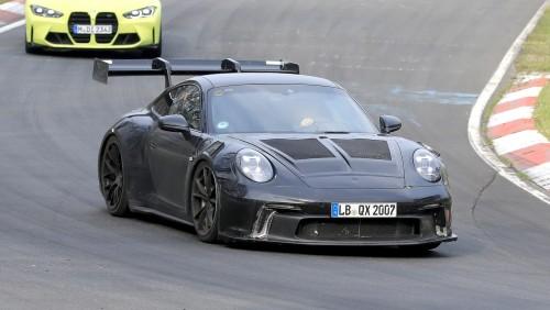 Porsche zamuja z verzijo GT3 RS
