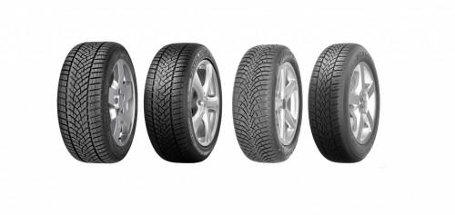 Goodyear in Dunlop vodilna na testih zimskih pnevmatik