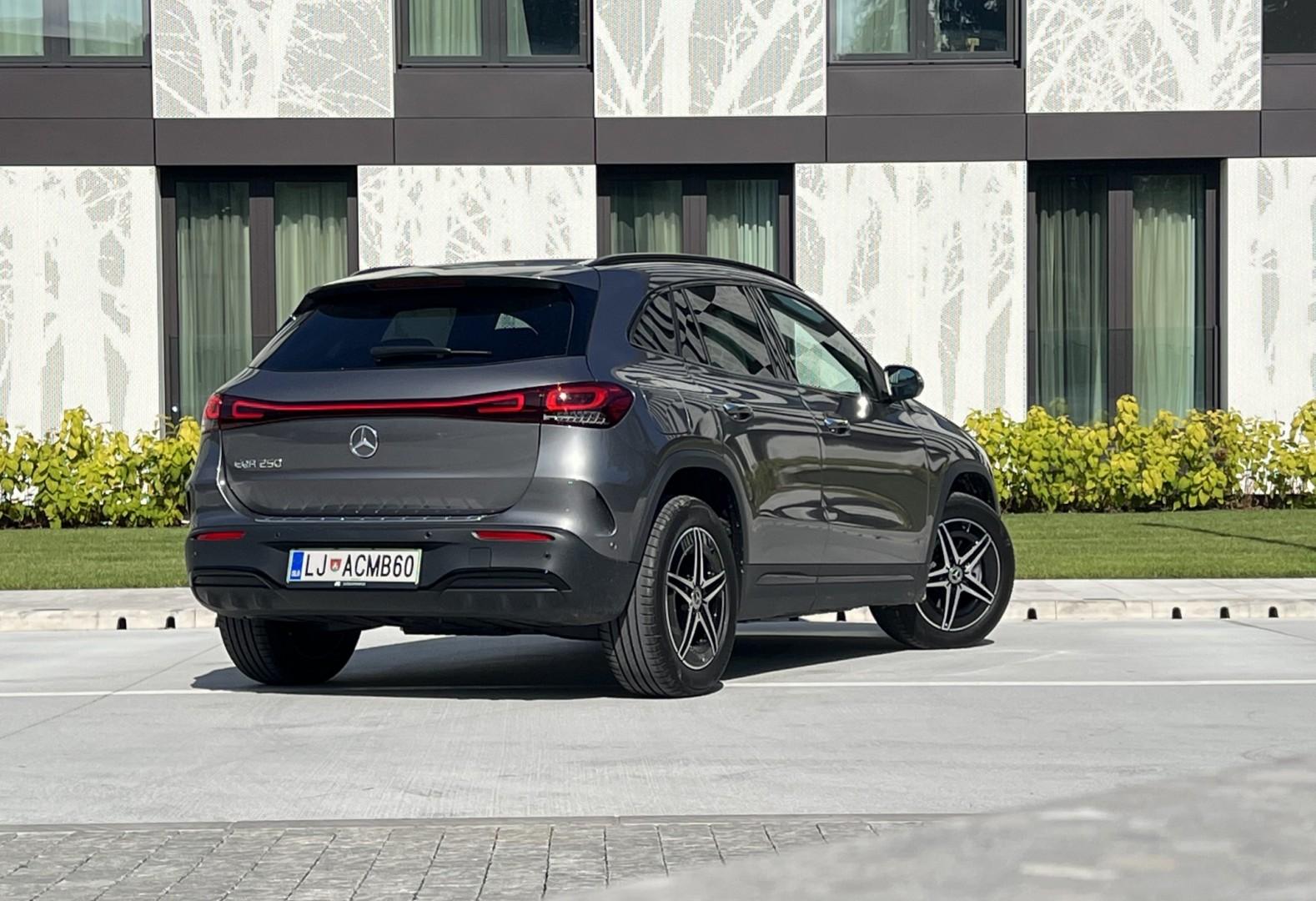 Najmanjši električni Mercedes
