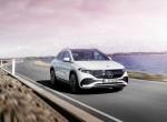 Nov električni Mercedes je EQA